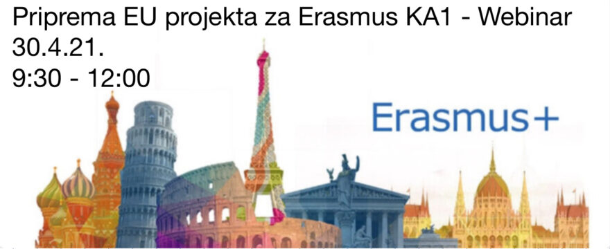 Erasmus KA1 Webinar EUradionice.EU