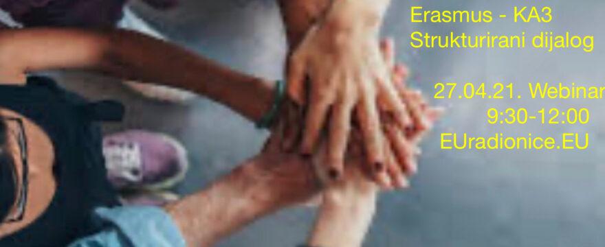 Priprema EU projekta za Erasmus – KA3